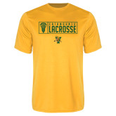 Syntrel Performance Gold Tee-Lacrosse Helmet Design