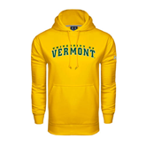 Under Armour Gold Performance Sweats Team Hoodie-Arched University of Vermont