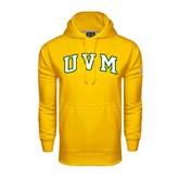 Under Armour Gold Performance Sweats Team Hoodie-Arched UVM