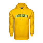 Under Armour Gold Performance Sweats Team Hoodie-Arched Catamounts