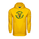 Under Armour Gold Performance Sweats Team Hoodie-Swimming and Diving