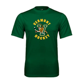 Performance Dark Green Tee-Hockey