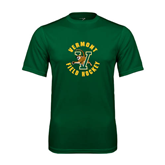 Performance Dark Green Tee-Field Hockey