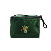 Six Pack Dark Green Cooler-Official Logo