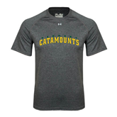 Under Armour Carbon Heather Tech Tee-Arched Vermont Catamounts