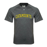 Under Armour Carbon Heather Tech Tee-Arched Catamounts