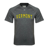 Under Armour Carbon Heather Tech Tee-Arched Vermont