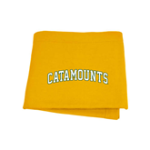Gold Sweatshirt Blanket-Arched Catamounts
