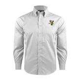 Red House White Long Sleeve Shirt-Official Logo