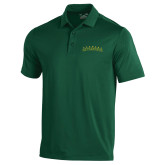 Under Armour Dark Green Performance Polo-Arched Vermont Catamounts