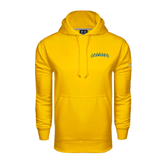 Under Armour Gold Performance Sweats Team Hoodie-Arched Vermont Catamounts