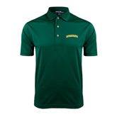 Dark Green Dry Mesh Polo-Arched Vermont Catamounts