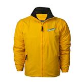 Gold Survivor Jacket-Slanted Vermont Catamounts