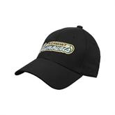 Black Heavyweight Twill Pro Style Hat-Slanted Vermont Catamounts