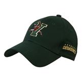 Dark Green Heavyweight Twill Pro Style Hat-Official Logo
