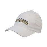 White OttoFlex Unstructured Low Profile Hat-Arched Vermont Catamounts