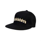 Black OttoFlex Flat Bill Pro Style Hat-Arched Vermont Catamounts