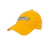 Gold Twill Unstructured Low Profile Hat-Arched Vermont Catamounts