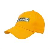 Gold Heavyweight Twill Pro Style Hat-Slanted Vermont Catamounts
