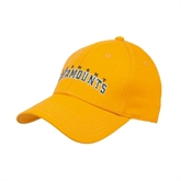 Gold Heavyweight Twill Pro Style Hat-Arched Vermont Catamounts