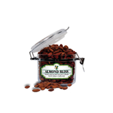Almond Bliss Small Round Canister-Official Logo