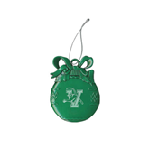 Green Bulb Ornament-Official Logo Engraved