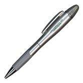 Silver/Silver Blossom Pen/Highlighter-University of Vermont