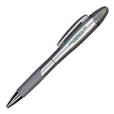 Silver/Silver Blossom Pen/Highlighter-University of Vermont