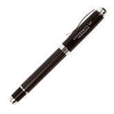 Luna Black Rollerball Pen-University of Vermont Engraved