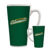 Full Color Latte Mug 17oz-Slanted Vermont Catamounts