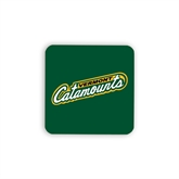 Hardboard Coaster w/Cork Backing 4/set-Slanted Vermont Catamounts