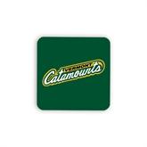Hardboard Coaster w/Cork Backing 4/set-Slanted Vermont Catamounts