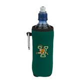 Collapsible Green Bottle Holder-Official Logo