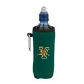 Collapsible Green Bottle Holder-Official Logo