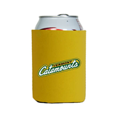 Collapsible Gold Can Holder-Slanted Vermont Catamounts