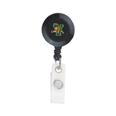 Black Retractable Badge Holder-Official Logo