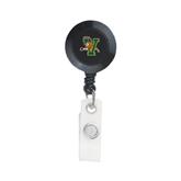Black Retractable Badge Holder-Official Logo