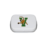 White Rectangular Peppermint Tin-Official Logo