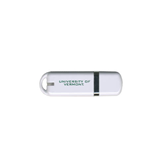 USB White Pen Drive 4G-University of Vermont