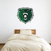3 ft x 3 ft Fan WallSkinz-Athletic Bear Head