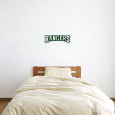 6 in x 2 ft Fan WallSkinz-Rangers Wordmark