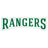 Extra Large Decal-Rangers Wordmark, 18 inches wide