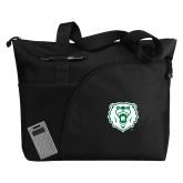 Excel Black Sport Utility Tote-Athletic Bear Head