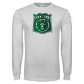White Long Sleeve T Shirt-Primary Athletic Mark
