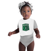 White Baby Bib-Primary Athletic Mark