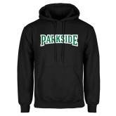 Black Fleece Hoodie-Parkside Wordmark