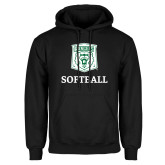 Black Fleece Hoodie-Softball