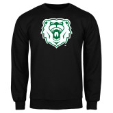 Black Fleece Crew-Athletic Bear Head