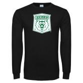 Black Long Sleeve T Shirt-Primary Athletic Mark