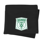 Black Sweatshirt Blanket-Primary Athletic Mark